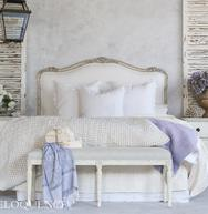 Sophia Linen Headboard by Eloquence:  $1690.
